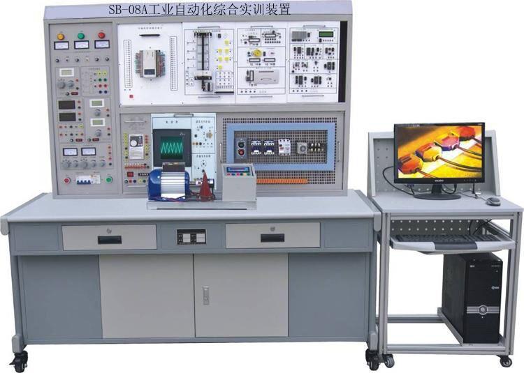 3、变频器实训挂箱 配置三菱FR-S540变频器,带有RS485通讯及BOP操作面板。 4、单片机实训挂箱 (1)DP-01 单片机实训挂箱(一) LED点阵显示模块、点阵式字符液晶显示模块、8253定时计数器、A/D转换、D/A转换、V/F转换、F/V转换、串引EEPROM、EEPROM、Flash Rom、SRAM、I2C总线接口 (2)DP-02 单片机实训挂箱(二) 8251串引口扩展、232总线串引接口、单片机最小应用系统1、单片机最小应用系统2、拔码开关输出 (3)DP-03 单片机实训挂箱(