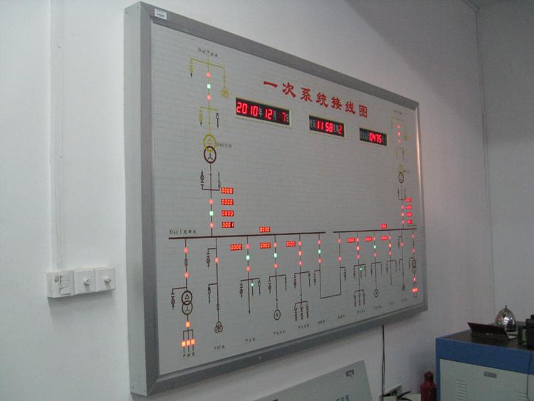 SBDLX-02型智能工厂供电自动化实训系统(真实系统) 智能工厂供电自动化实训系统主要由低压及控制室、高压室和操作室组成。本智能变电站模拟35kV进线经降压变压器降压至10kV再降压至400V的整个变配电过程。整个供配电系统一次系统由高低压设备30台套组成,二次部分采用了微机综合继电保护系统。所采用设备与现代化工矿企业在运行设备同步,设备先进,智能化程度高。   为巩固学生的理论知识、提高学生的运手能力,本智能实验变电站还提供包含供配电系统综合实训装置。综合实训装置主要由多台套低压配电设备组成,通过