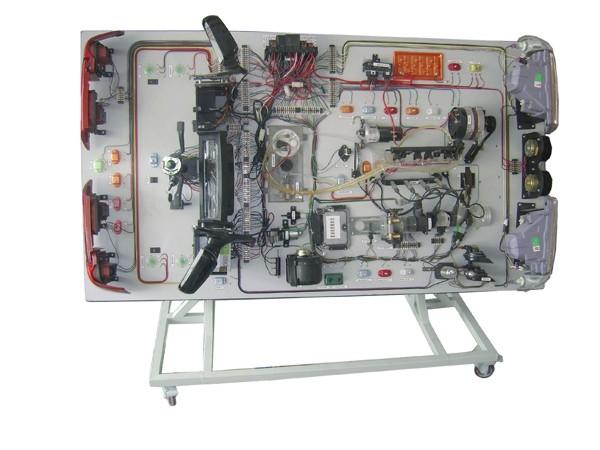 桑塔纳2000gsi型轿车电路学生实习台,桑塔纳2000时代超人全车电路电器