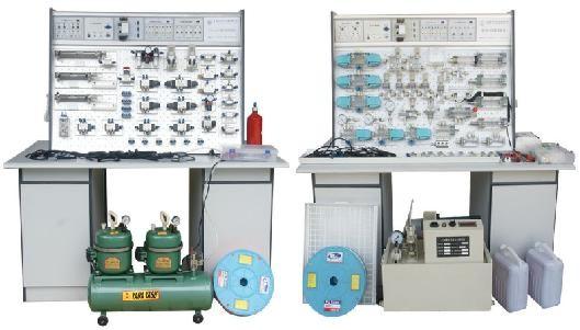 实现油箱,油泵,直流电机,直流电源及控制系统,转速测控一体化设计.