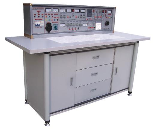 纹波电压:<5mv D单元:直流稳压5V,电流0.5A E单元:交直流电压0~240V连续可调,电流2A F单元:220V电压输出,供外接仪器使用。 3、单次脉冲源:每次可输出一对正负脉冲 4、函数信号发生器(正弦波、三角波、矩形波) 1.频率范围:5HZ-550KHZ分五个频段 2.频率指示:由HZ表直接读出 3.