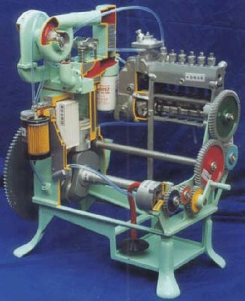 A1091车型汽车发动机及底盘模型,汽车底盘模型,汽车电路实验室图片