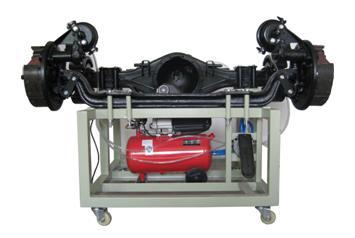汽车液压制动模拟实训台,气压制动模拟实训台,大众ABS制动模拟实高清图片