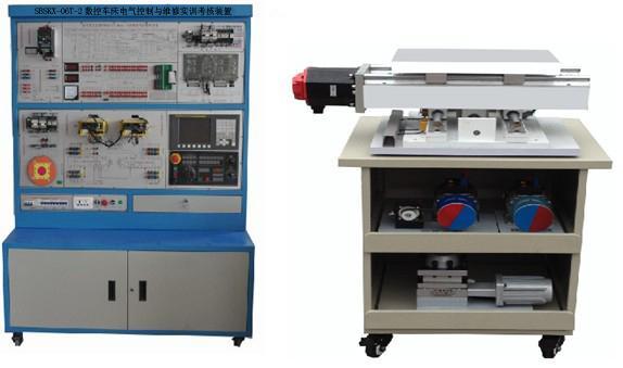 数控车床电气控制与维修实训考核装置