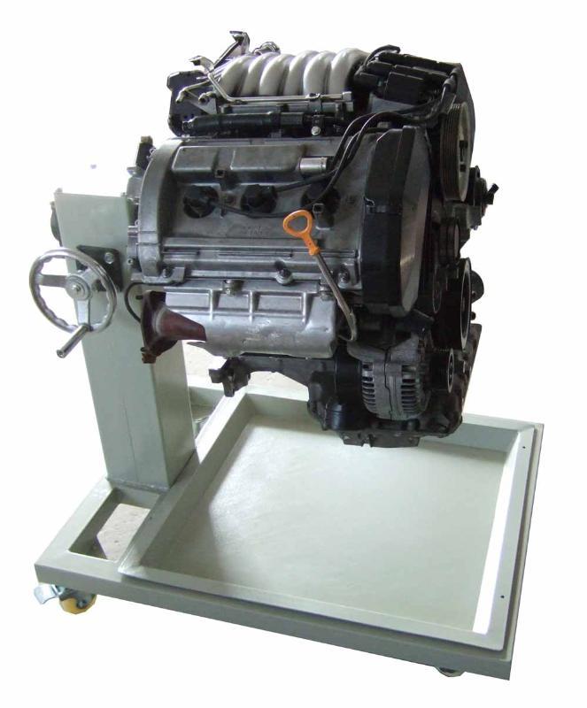 帕萨特 v6 发动机拆装翻转架 汽车实物拆装翻高清图片