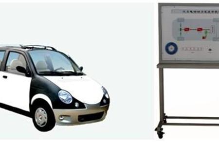 电动汽车在线检测实训考核系统