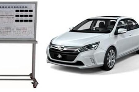混合动力汽车在线检测实训考核系统