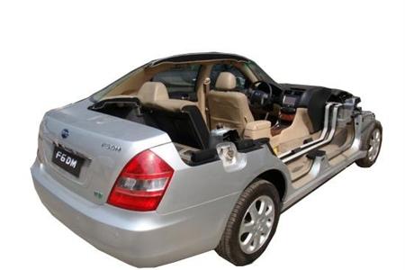 混合动力汽车整车解剖模型