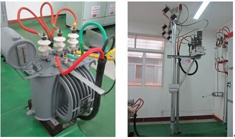 实训设备由建筑模型和配套的设备组成-户外高压实训设备