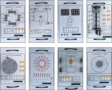 实验时指导书中详细叙述了各实验的目的,内容,列出了接线图,程序接口