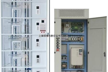 串行通讯控制透明教学电梯模型