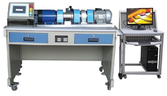 SB-DJJC型高级交直流电机检测实训台   系统概述: SB-DJJC型高级交直流电机检测实训台集直流电机、三相异步电机两类电机对应的机械特性、电气特性的测试和教学实训于一体,配套先 进的检测控制手段,对以上各种运行方式进行定量分析,采集电机运行的各种参数。学生可通过一个嵌入式触摸屏电脑实现采集数据的显示、系统控制、加载控制、直流调速控制等。 一台基于W i n C E ( 中 文 版 ) 操作系统 、内嵌HMIBuilder嵌入版组态软件的触摸屏是唯一的人机界面,它在系统中作为数据输入、显示监控及 控