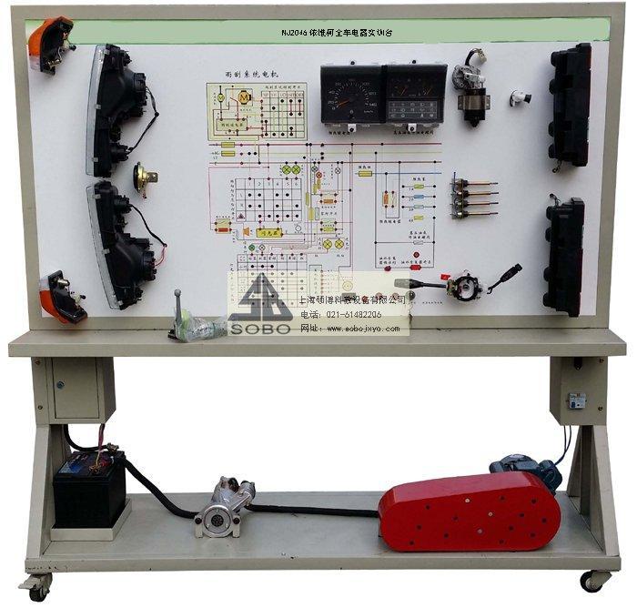 全新依维柯nj2046柴油机整车电器实物为基础,充分展示汽车仪表系统
