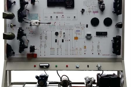 东风EQ1118G汽车全车电器实训装置
