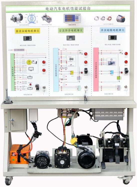 新能源汽车驱动系统结构与性能实验台