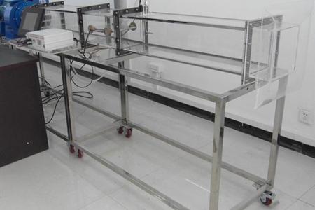 强迫对流空气横掠平板放热系数测试装置(数据采集型)