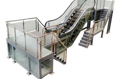 自动扶梯维修与保养实训考核装置