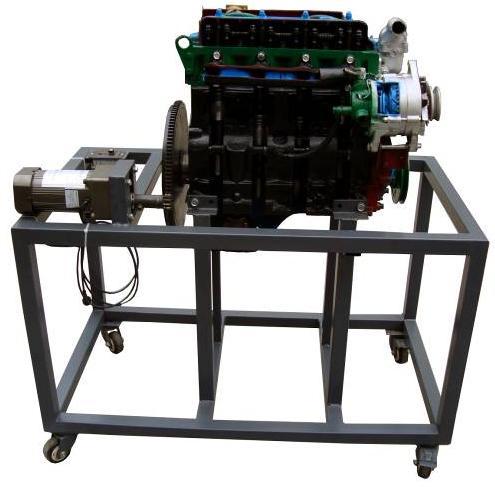 内燃机模型(实物)该设备采用 翻新 五十铃4jb1 发动机总成进行剖面