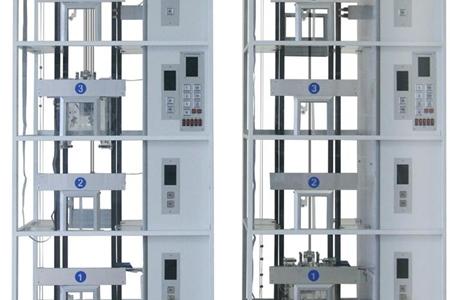 双联四层透明仿真教学电梯模型