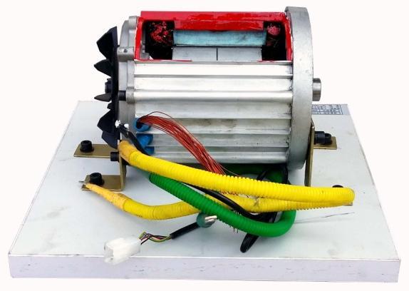 驱动电机(解剖)展示台 - 新能源汽车教学设备 - 上海