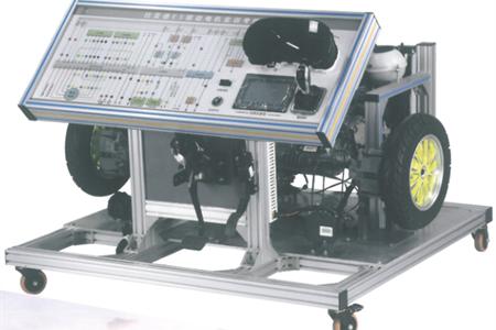 比亚迪秦混合动力驱动传动系统(发动机、电机控制器、驱动电机与变速箱)实训台