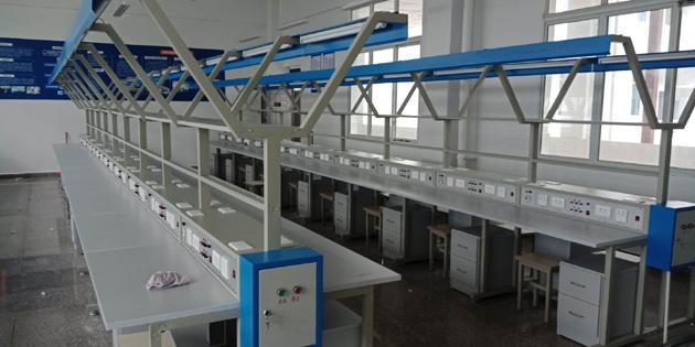 电子产品装配与调试生产线