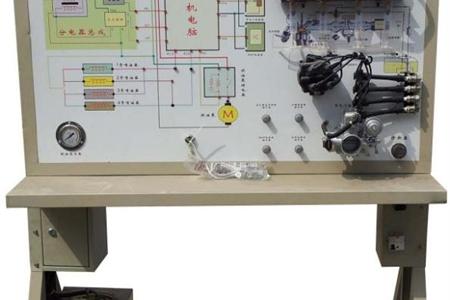 电子燃油喷射示教板