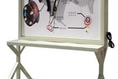 配气机构示教板