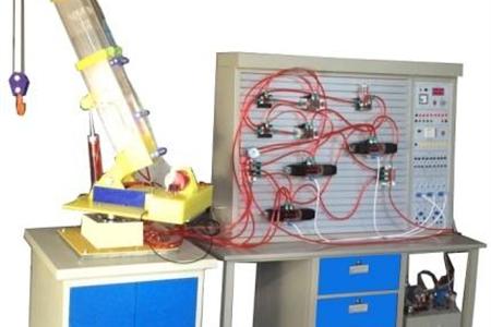 透明起重机液压系统与PLC控制实训装置