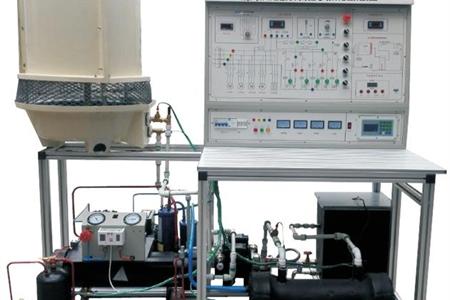 活塞式冷水机组电气实训智能实验装置