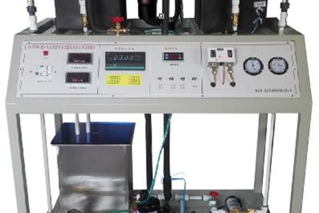 制冷压缩机热泵性能测试实训装置