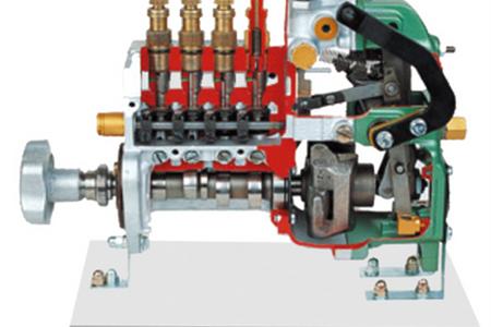斯太尔RQV直列喷射泵解剖模型