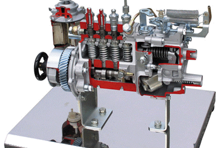 维柴WD615柱塞式高压油泵解剖模型