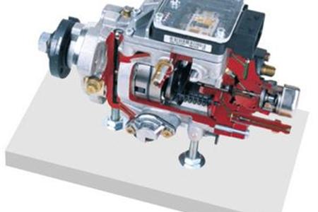 博世共轨柴油机VE泵解剖模型