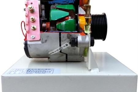 拖拉机发电机解剖模型