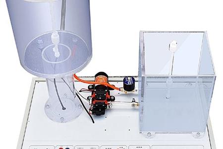 水塔水位自动控制模型