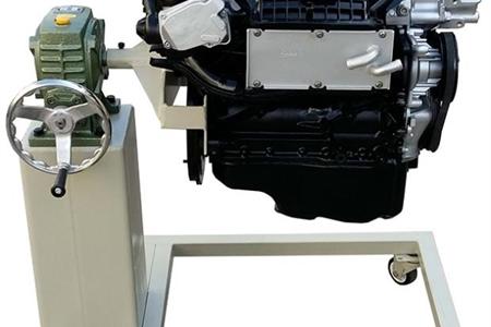 电控发动机拆装台架含翻转架