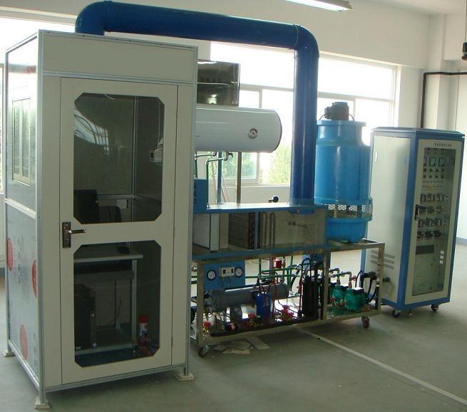 (2)冷却水系统         由1套喷淋式冷却塔机组,2台冷却